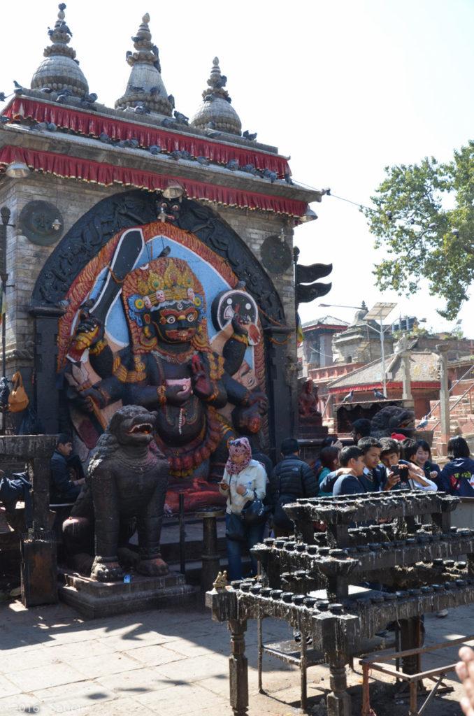Kali Statue am Durbar Square