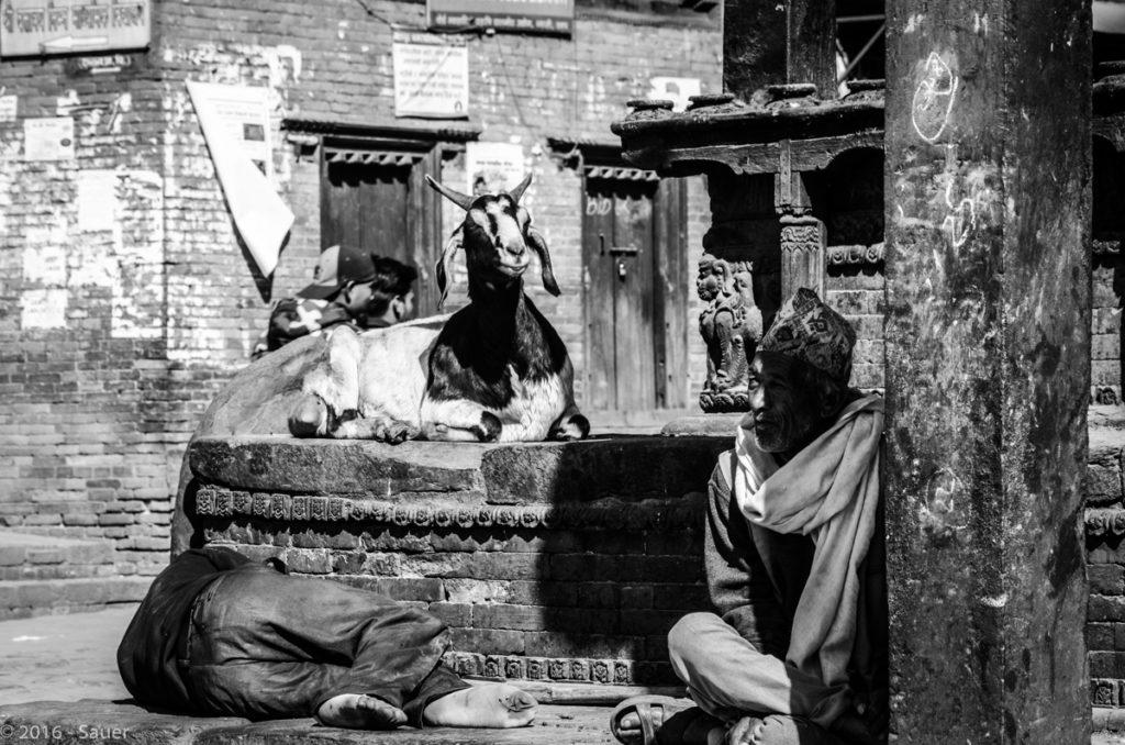 Szene aus dem Leben - Bhaktapur