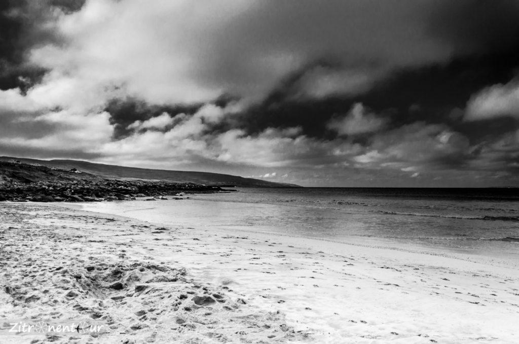 Fanore Beach mit Blick nach Süden