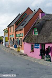 Die bunten Häuser von Doolin