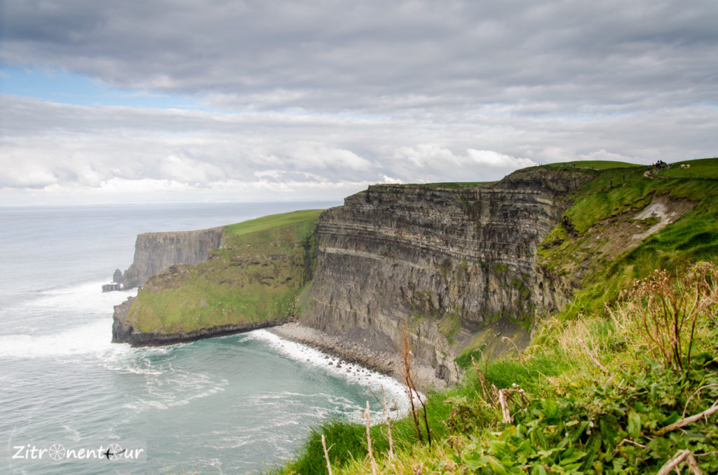 Die weltberühmten Klippen von Moher an der Westküste von Irland