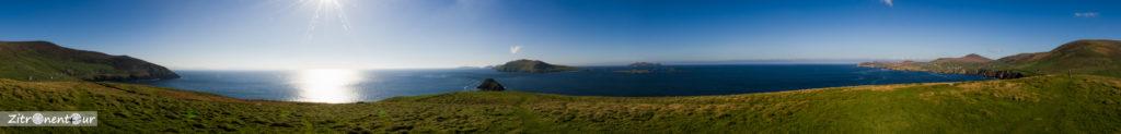 Panorama Blick vom Blasket Sound