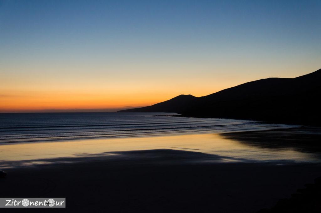 Sonnenuntergang Am Inch Strand