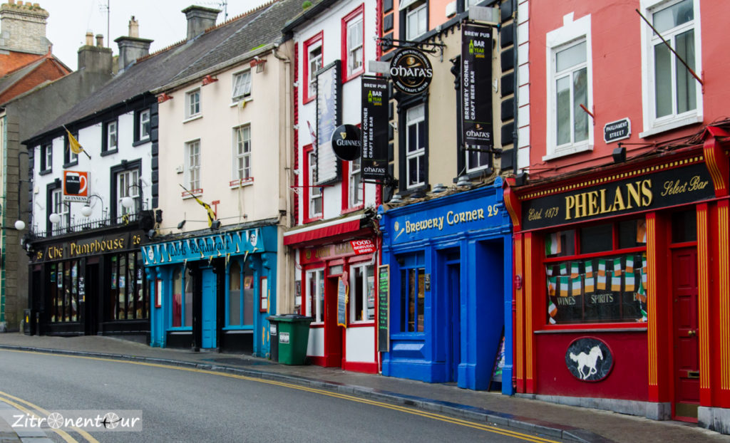 Straße in Kilkenny