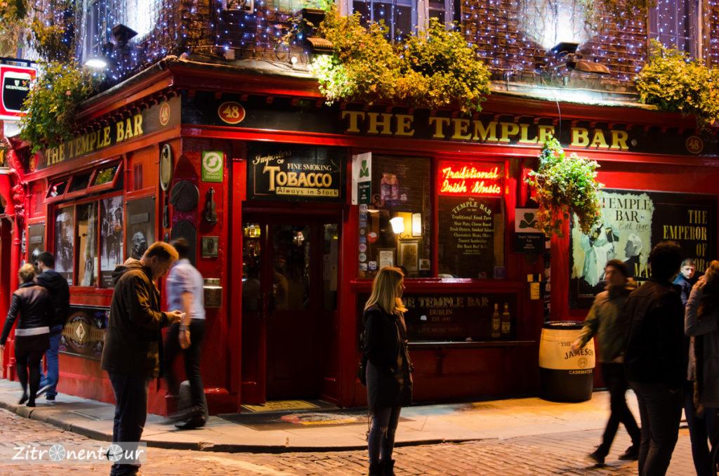 Temple Bar bei Nacht