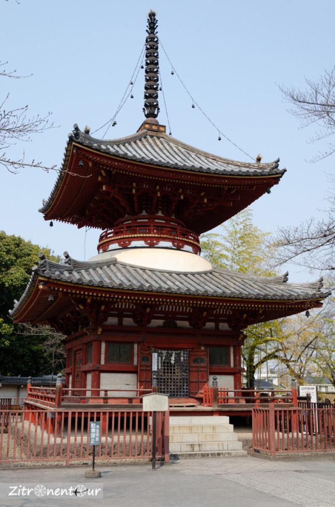 Pagode am Kita-in Tempel in Kawagoe