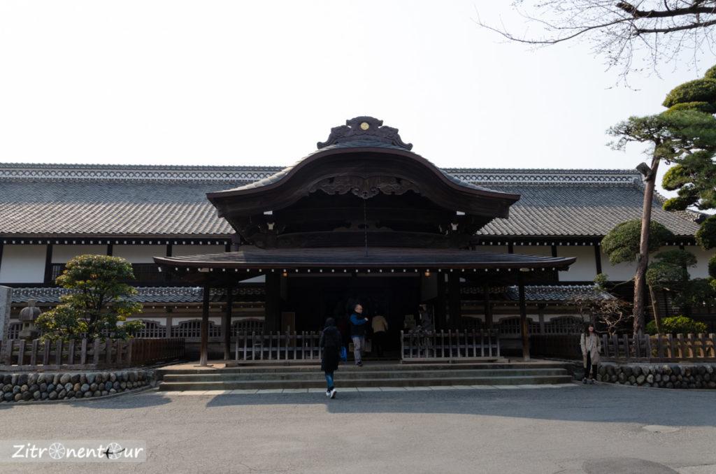 Burg Honmaru Goten in Kawagoe