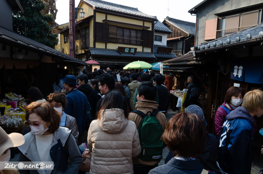 Süßigkeitenstraße in Kawagoe