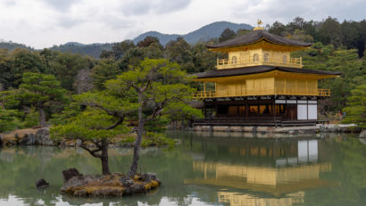 Kinkaku-ji - Goldener Tempel in Kyoto