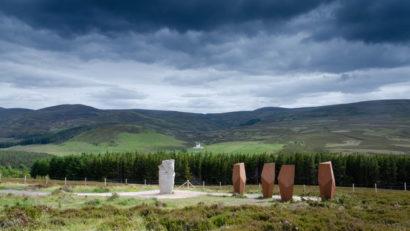 Aussichtspunkt in den Cairngorms
