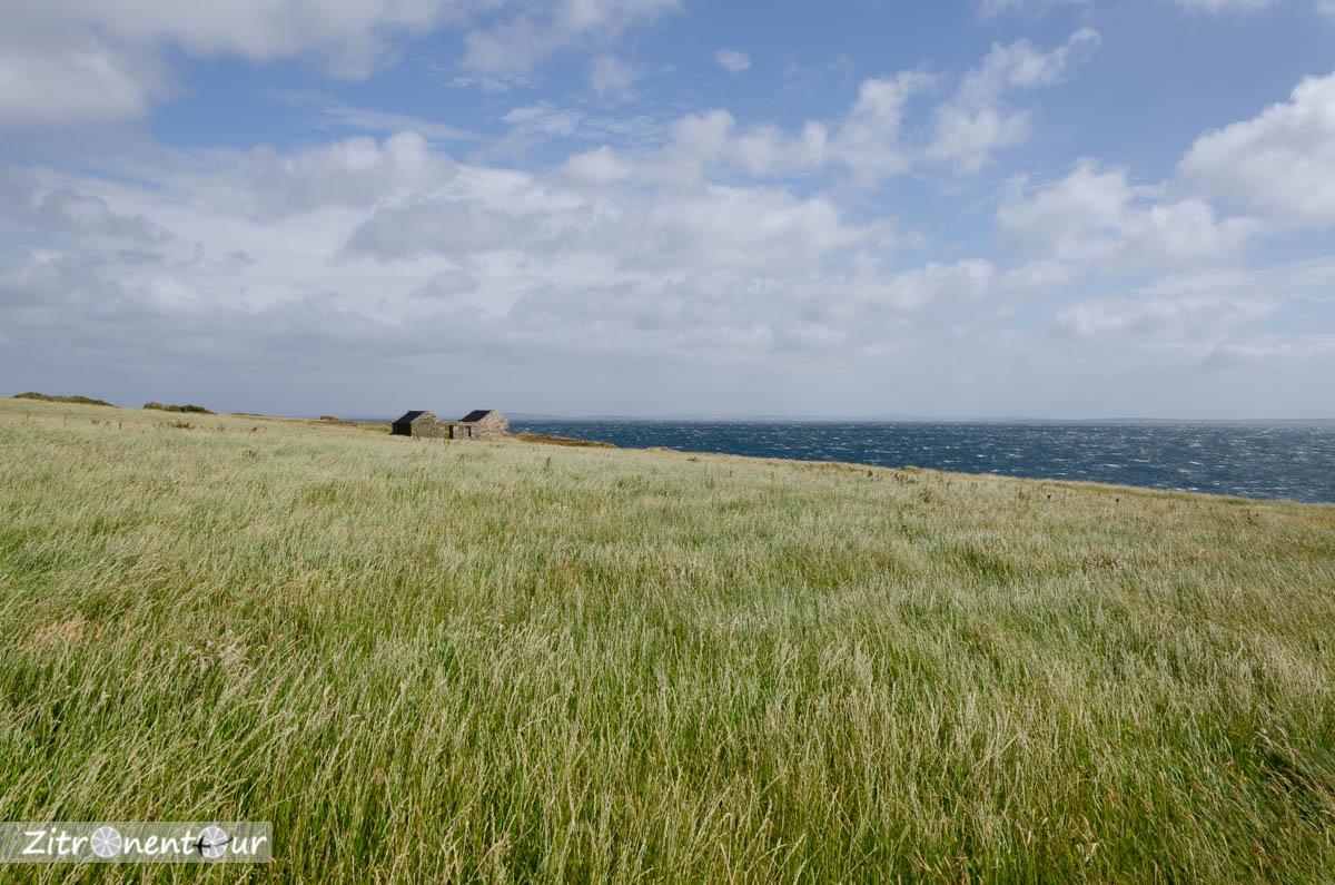 Orkneys - Sicht auf Scapa Flow
