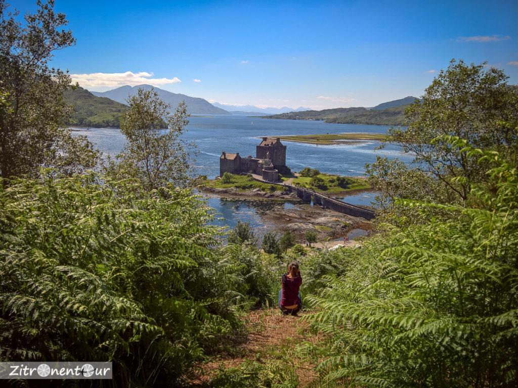 Eilean Donan Castle von Lichtung