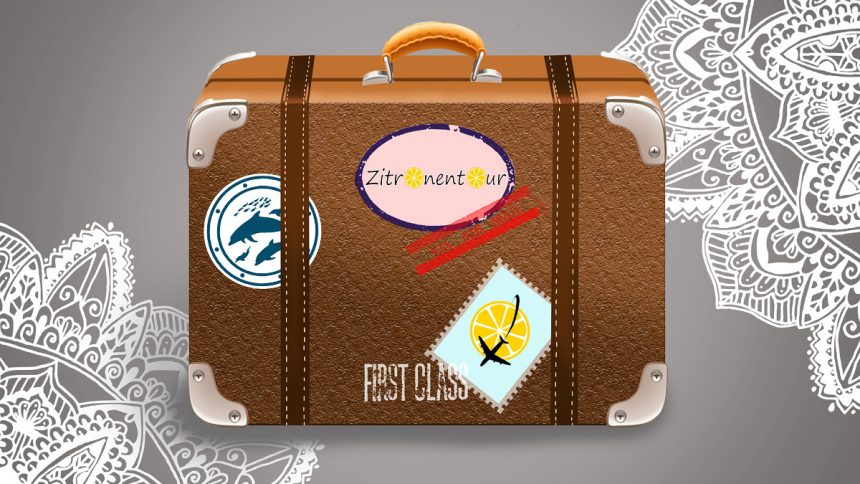 Reiseblog Zitronentour Koffer